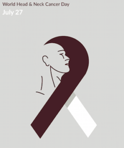 World Head and Neck Cancer Day Ribbon